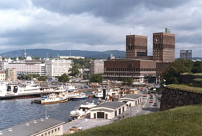 Oslo's City Hall and Waterfront